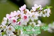 Từ bài thơ Mùa xuân nho nhỏ viết thành 1 bài văn tả cảm xúc trước mùa xuân