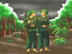 So sánh hình ảnh người lính trong bài thơ Đồng chí và Bài thơ về tiểu đội xe không kính