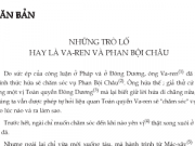 Soạn bài Những trò lố hay là Va-ren và Phan Bội Châu trang 89  Văn 7 tập 2