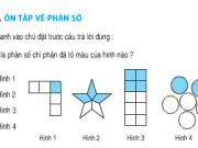 Ôn tập về phân số – Bài tập 1,2,3,4,5 trang 166,167