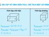 Giải bài 1,2,3, trang 168 môn toán lớp 5: Ôn tập tính diện tích thể tích một số hình