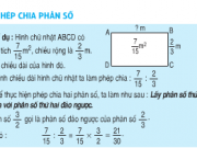 Giải bài 1,2,3,4 trang 136 Toán 4: Phép chia phân số