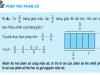 Giải bài 1,2,3 trang 129 Toán 4: Phép trừ phân số