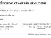 Tìm hiểu chung về văn bản hành chính trang 107 SGK Văn 7 tập 2