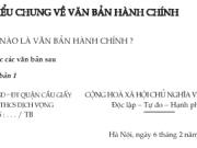 Tìm hiểu chung về văn bản hành chính trang 107 Văn 7 tập 2