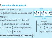 Bài 1,2,3 trang 135 sách Toán 4: Tìm phân số của một số
