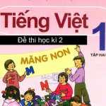 30 phút kiểm tra cuối kì 2 môn Tiếng Việt lớp 1 vừa cập nhật