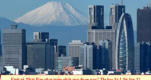 Đề thi trắc nghiệm môn Sử 12 cuối học kì 1: Kinh tế Nhật Bản phát triển thần kì vào giai đoạn nào?