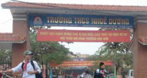 [KSCL Tiếng Anh 9 kì 1] Đề thi của trường THCS Nhuế Dương (Hưng Yên)