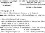 Đề kì 1 môn Văn lớp 6 huyện Kim Bôi có đáp án – Kể về một người bạn mà em yêu quý