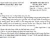 Đề kì 1 môn Văn lớp 8 Quận Tây Hồ có đáp án Kể lại một kỉ niệm về tình yêu thương