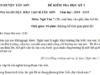Đề kì 1 lớp 7 môn Văn huyện Tây Sơn – Tìm cặp từ trái nghĩa trong đoạn văn trên