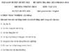 Đề kiểm tra học kì 1 môn Lý lớp 8 Duyên Hải 2018 – 2019: Tính vận tốc của con ngựa
