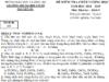 Đề thi kì I môn Hóa lớp 9 THCS Nguyễn Du Tính khối lượng chất rắn C
