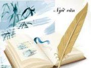 Đề kiểm tra 15 phút lớp 8 môn Văn Học kì 2: Trình bày đôi nét về tác giả Tế Hanh và bài thơ Quê hương