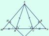 Kiểm tra 45 phút Chương 3 Quan hệ giữa các yếu tố trong tam giác – Các đường đồng quy của tam giác Hình học 7: Chứng minh rằng I, G, C thẳng hàng