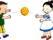 Bắt bóng – trò chơi giúp trẻ tập trung chú ý, phối hợp giữa mắt và tay