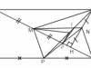 Đề kiểm tra 1 tiết Hình học 8 Chương 1 – Tứ giác: Chứng tỏ tứ giác NEQF là hình chữ nhật