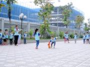 Trò chơi mang tính đồng đội, phối hợp cao cho các bé mầm non