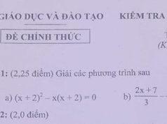 Tham khảo đề thi học kì 2 môn Toán lớp 8 Sở GD Bình Dương: Hỏi giá của quyển sách khi chưa tính thuế VAT là bao nhiêu?