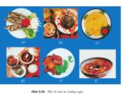 Bài 23. Thực hành xây dựng thực đơn – Công nghệ 6:So sánh với các bữa ăn thường ngày, em có nhận xét gì ?