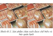 Bài 43. Bảo quản thịt, trứng, sữa và cá- công nghệ 10: Nêu một số phương pháp bảo quản trứng.