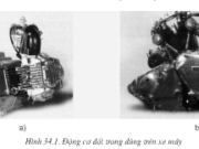 Bài 34. Động cơ đốt trong dùng cho xe máy – Công nghệ 11: Trình bày đặc điểm của hệ thống truyền lực trên xe máy.