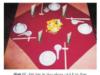 Bài 6. Trình bày và trang trí bàn ăn – Công nghệ 9: Hãy nêu cách trang trí bàn tiệc ?