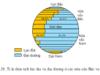 Bài 11. Thực hành: Sự phân bố các lụa địa và đại dương trên bề mặt Trái Đất – Địa lí 6: Tỉ lệ diện tích lục địa và diện tích đại dương ở nửa cầu Bắc.