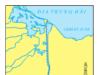 Bài 38. Thực hành: Viết báo cáo ngắn về kênh đào Xuy-ê và kênh dào Pa-na-ma – Địa lớp 10: Hãy xác định kênh Xuy-ê trên bản đồ