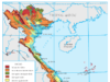 Bài 7. Đất nước nhiều đồi núi (tiếp theo) – Địa lí lớp 12: Dựa vào hình 6, nêu nhận xét về đặc điểm của đồng bằng ven biển miền Trung.