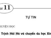 Bài 11. Tự tin – GDCD 7: Do đâu bạn Hà được tuyển đi du học ở nước ngoài ?