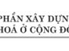Bài 9. Góp phần xây dựng nếp sống văn hóa ở cộng đồng dân cư- GDCD lớp 8: Vì sao làng Hinh được công nhận là làng văn hoá ?