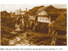 """Bài 24. Chiến thắng """"Điện Biên Phủ trên không"""" – Lịch sử 5: Tại sao Mĩ ném bom hòng huỷ diệt Hà Nội ?"""