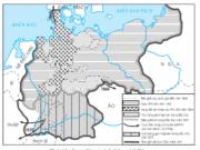 Bài 33. Hoàn thành cách mạng tư sản ở châu Âu và Mĩ giữa thế kỉ XIX – Lịch sử 10: Dựa vào lược đồ, trình bày diễn biến chính của quá trình thống nhất Đức