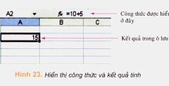 Bài 3. Thực hiện tính toán trên trang tính – Tin học 7: Hãy nêu lợi ích của việc sử dụng địa chỉ ô tính trong công thức