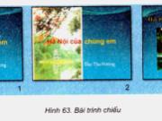 Bài 9. Màu sắc trên trang chiếu – Tin học 9: Có thể đặt màu nền khác nhau cho các trang chiếu trong một bài trình chiếu được không và bằng cách nào