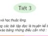 Soạn bài Tiết 3 Tuần 10 – Ôn tập giữa học kì 1 Tiếng Việt 4 tập 1 – Những hạt thóc giống