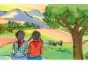 Soạn bài: Tập đọc: Sắc màu em yêu – Bài thơ cho biết bạn nhỏ yêu mọi sắc màu trên đất nước. Bạn yêu quê hương đất nước mình.