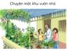 Soạn bài Tập đọc: Chuyện một khu Vườn nhỏ – Bé Thu thích ra ban công để được ngắm nhìn cây cối, nghe ông kể chuyện từng loài cây trồng ở ban công.