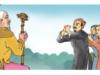 Soạn bài Tập đọc: Nghĩa thầy trò – Những thành ngữ, tục ngữ nào dưới đây nói lên bài học mà các môn sinh nhận được trong ngày mừng thọ cụ giáo Chu ?