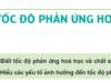 Bài 1, 2, 3, 4, 5 trang 202 SGK Hóa 10 Nâng cao: Tốc độ phản ứng hóa học