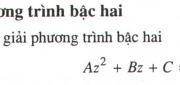 Bài 20, 21, 22 trang 196, 197 Giải tích 12 Nâng cao: Căn bậc hai của số phức và phương trình bậc hai