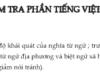 Soạn bài Ôn tập kiểm tra phần Tiếng Việt ngắn gọn – Văn 8: Từ tượng hình: là từ có khả năng gợi ra hình dáng, đường nét, hình khối màu sắc của sự vật, hiện tượng
