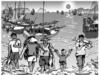 Soạn bài Quê hương ngắn gọn – Giang Nam – Môn văn 8:  Cảnh đón thuyền cá về bến sau một ngày lao động (8 câu tiếp)