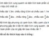 Bài 1, 2, 3 trang 28 VBT Toán 5 tập 2:Một hình lập phương có cạnh 5cm. Nếu cạnh của hình lập phương gấp lên 4 lần thì diện tích xung quanh ; diện tích toàn phần của nó gấp lên bao nhiêu lần