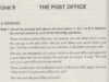 Reading – Unit 9 trang 64 SBT môn Anh lớp 11: What happens when you have a post-office box?
