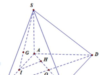 Đề kiểm tra 45 phút Chương 1 – Khối đa diện Hình học 12: Số cạnh của một khối chóp tam giác là?