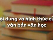 Soạn bài Nội dung và hình thức của văn bản văn học Văn 10: Đề tài của văn bản văn học là gì?