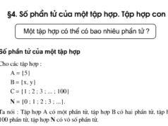Bài 4.1, 4.2 trang 11 SBT Toán lớp 6 tập 1: Tìm số phần tử Tập hợp A các tháng dương lịch có 31 ngày